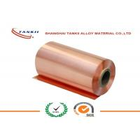 Quality 0.1 * 250mm 340HV hardness Pure Copper Sheet High Yield Strength QBe2 C17200 for sale