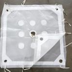 PP Polypropylene Felt Woven Filter Cloth For Filter Press Corrosion Resistance Manufactures
