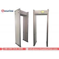 Tamper Proof Pass Through Metal Detector 33 Pinpoint Zone By Hardware Loacking Keypad Manufactures