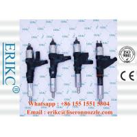 Quality ERIKC 095000-8650 denso common rail injector 23670-30370 diesel fuel injection 23670-30240  for Toyota Euro 4 for sale