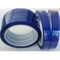 China One Sided Heat Temperature Resistant Tape 70um Thickness Silicone Glue Coating on sale
