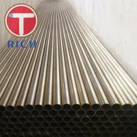 Seamless Copper Alloy Tube ASTM B111 C70400 C70600 For Condenser Tubes Manufactures