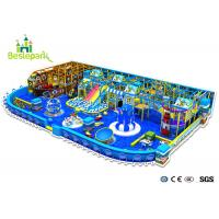 China Kindergarten Soft Play Area Equipment , Ocean Theme Indoor Play Centre Equipment on sale
