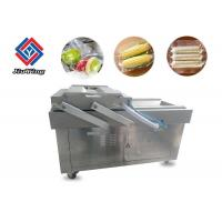 Pneumatic Vacuum Frozen Food Packaging Machine Double Chamber High Efficiency Manufactures