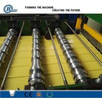 0.3-0.7mm Color Coated Metal Roof Panle Roll Forming Machine With Automatic PLC Control Manufactures