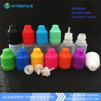 3ml LDPE e-liquid bottle, plastic bottle with child proof and tamper evident cap Manufactures