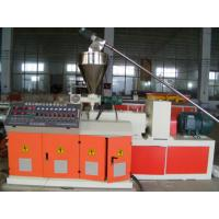 PVC Plastic Pipe Extrusion Machine with Single outlet or Double outlet 16mm - 630mm Manufactures