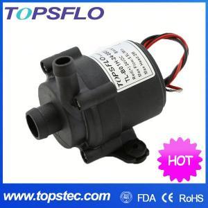 TOPSFLO dc mini pump,high temperature FDA food grade water pump, TL-B01 Manufactures