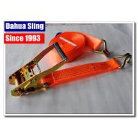 Retractable Flatbed Ratchet Straps , 27ft Length Pull Down Ratchet Straps Manufactures