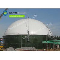 Glass Fused To Steel Bolted Industrial Wastewater Storage Tanks High Durability Manufactures