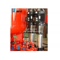 Multi - Stage Booster Fire Jockey Pump 2m³/H For Firefighting , NFPA20 / GB6245 Standard Manufactures