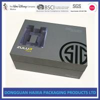 Large Capacity Rigid Gift Boxes Light Weight Packing Boxes For Telescope Manufactures