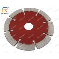 China Stone Granite Marble Concrete Brick Cutting 4 Sintered Hot Press Segmente Diamond Saw Blade on sale