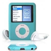 China Fashion Blue OLED Screen MP3 Player  Supports 25 languages 1GB 3GB 5GB AMV FM TF Card on sale
