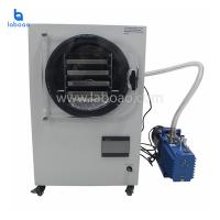 LCD digital vacuum freeze dryer drying machine for food meat fruits vegetable Manufactures