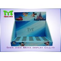 OEM Shoes Tapes Counter Top Display Stands Shelf For Disney Toys Manufactures