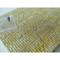 China Rockwool External Wall Insulation Board Water Resistant on sale