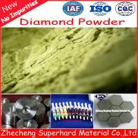 Quality Diamond Powder Supplier for sale