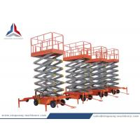 Quality China Professional 12m Mobile Scissor Lift Table for Warehouse for sale