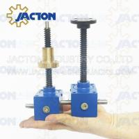 Electric Motor Lift Drive Actuation and Scissor Lift Mechanism screw jack Electric Motor Lifting Drive Manufactures