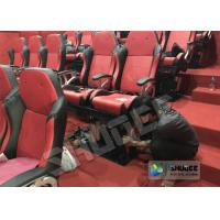 Amusement Park 5D Cinema Equipment With Flat Screen / 6 Seats Manufactures