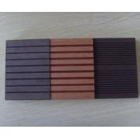 Eco-fricend Durable WPC Solid Board Decking and Wood Plastic Engineered Flooring Manufactures