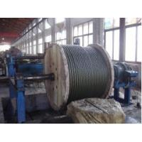 Spring Galvanised Steel Wire Rope , Slope Hoisting 6 x 36 Manufactures