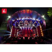 Aluminum Stage Roof Truss Semi Circle Roof Concert Stage Curved System Manufactures