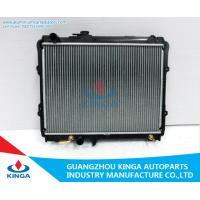 Aluminum Core Toyota Automotive Radiator For HILUX 2.4 PA26 / AT Silver Manufactures