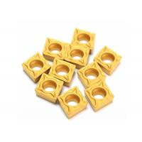 Quality High quality Tungsten Carbide CCMT060204-HM YBC251 Insert Titanium Coated Carbide Cutter for sale