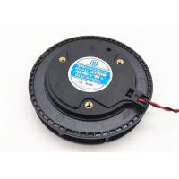 High Air Flow Centrifugal Fan Blower Round 24V 100mm X 25mm Dual Ball Bearing Manufactures