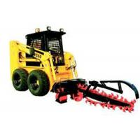 China Front Bucket Track Hydraulic Skid Steer With Ditching Machine Grab Fork on sale