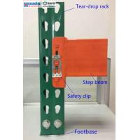 Industrial Storage Steel Pallet Rack Shelving Step Beam Corrosion Protection Manufactures
