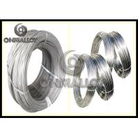 China CuNi30 / CuNi34 Copper Based Alloys , Copper Nickel Wire For Low Voltage Apparatus on sale