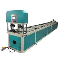 High Precision CNC Pipe Processing Machines , Hydraulic Automatic CNC Tube Punching Machine Manufactures