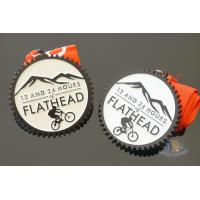 Buy cheap Sandblasted Back Die Casting Custom Sports Medals For Running Or Riding from wholesalers