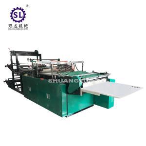 China BOPP Plastic Flower Side Sealing Bag Making Machine 6000*1400*1600 MM Dimension on sale