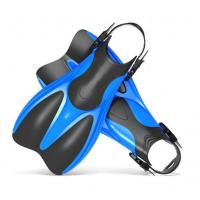 Comfortable Adult Scuba Diving Fins With Short Blade Anti - Degormation Manufactures