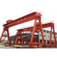 Work Yard A Frame Double Beam Gantry Crane , Optional Color Rubber Tired Gantry Crane Manufactures
