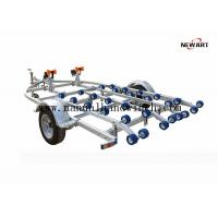 Two Hand Winches Single Axle Boat Trailer Inflatable 4200 X 2500mm OEM Accepted Manufactures