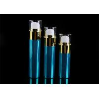 Buy cheap 30ml 40ml 50ml Plastic Airless Lotion Pump Bottle With Transparent Cover from wholesalers