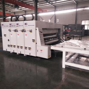 China Semi - Automatic Carton Box Flexo Printing Machine / Flexo Printer Slotter Machine on sale