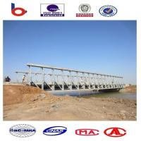 Custom Permanent Steel Structure Bridge Steel Deck With Good Stability Manufactures