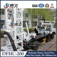 China Factory Price 200m Depth Hydraulic Drilling Machines on Truck DFHC-200 on sale