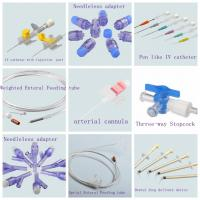 Quality Medical Consumables manufacturer Medical Consumables products enteral feeding tube arterial cannula catheter for sale