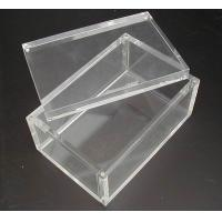 China Large Clear Acrylic Boxes on sale