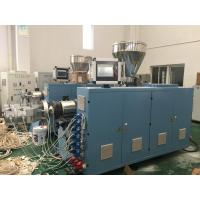 Quality PVC Electrical Conduit Pipe Production Line , PVC Pipe Extrusion Machine 0 - 40℃ Temp for sale