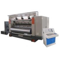 Single Facer Flute Cardboard / Corrugated Cardboard Production Line Electric Driven Type Manufactures