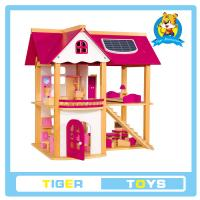 China wooden toys,educational toys for kids- Wooden Doll house-play toy house on sale