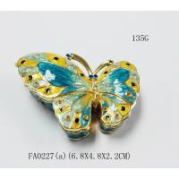 China New Arrival Metal Butterfly Unique Jewelry Gift Boxes on sale